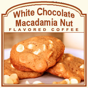 White Chocolate Macadamia Nut Flavored Coffee (1/2lb bag)