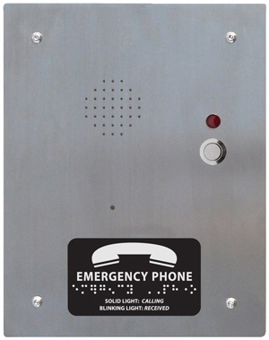 2100 958ns d or r flush mount 17 2100 958nsr (flush mount) call boxes emergency phones area of  at soozxer.org