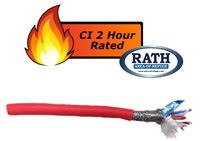 Communication Cable <br>CI 2 Hr Rated (4 Pair)