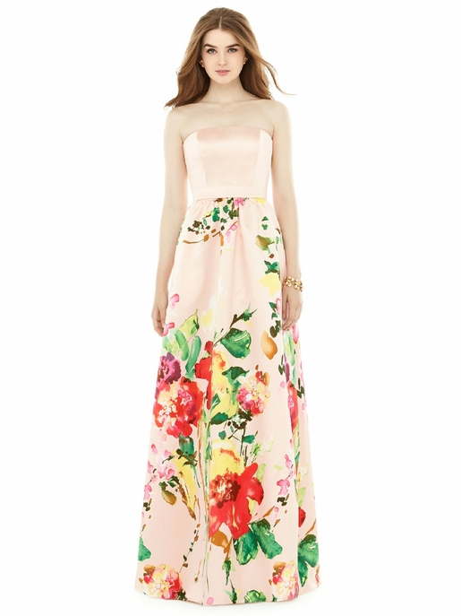 ALFRED SUNG BRIDESMAID DRESSES: ALFRED SUNG D724 CP