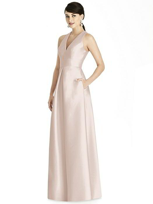 ALFRED SUNG BRIDESMAID DRESSES: ALFRED SUNG D747