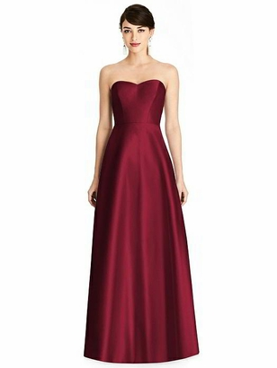 ALFRED SUNG BRIDESMAID DRESSES: ALFRED SUNG D748