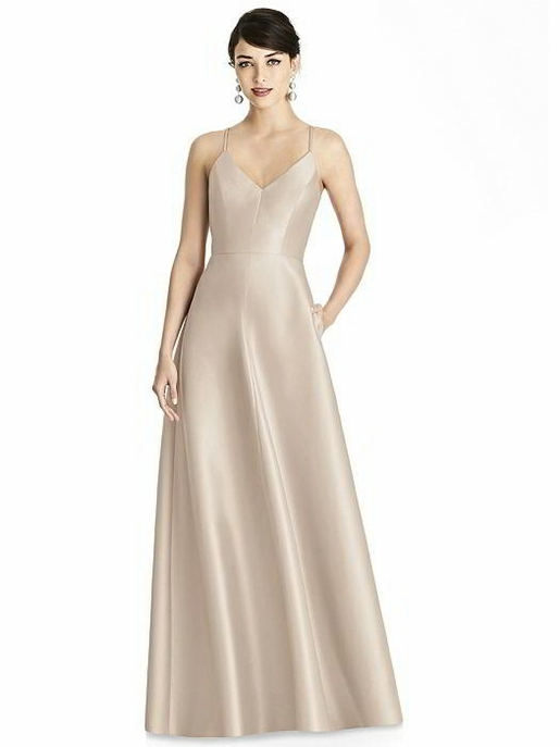ALFRED SUNG BRIDESMAID DRESSES: ALFRED SUNG D750