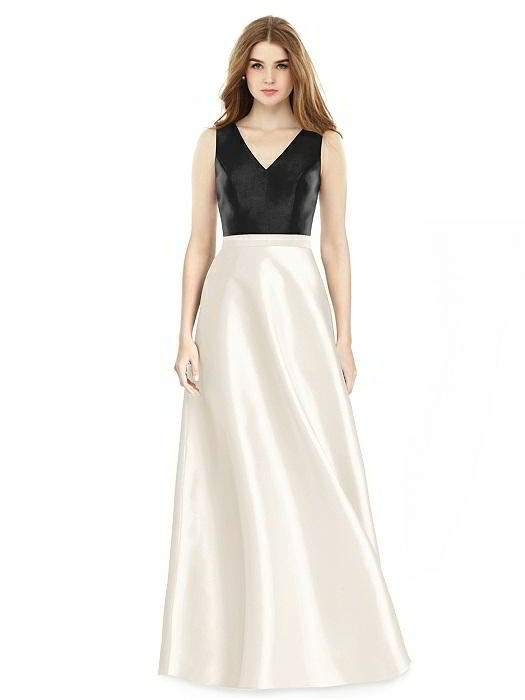 40d0cdc5b4 ALFRED SUNG BRIDESMAID DRESSES  ALFRED SUNG D754