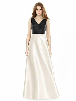 ALFRED SUNG BRIDESMAID DRESSES: ALFRED SUNG D754