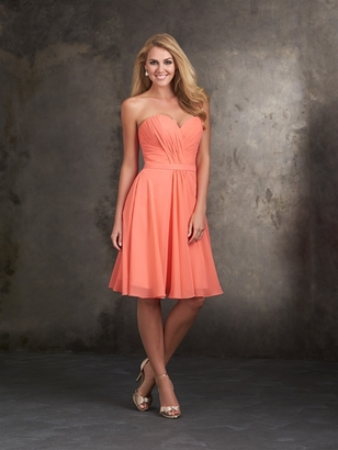 ALLURE BRIDESMAID DRESSES: ALLURE BRIDESMAIDS 1414