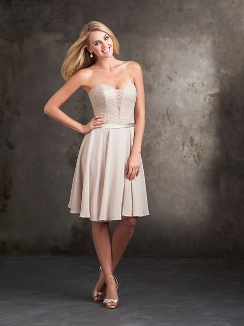 Cappuccino Chiffon Dress