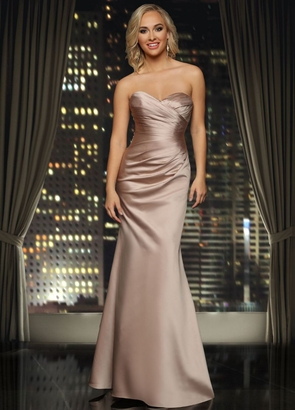 ASHLEY & JUSTIN BRIDESMAID DRESSES: Ashley & Justin 20338