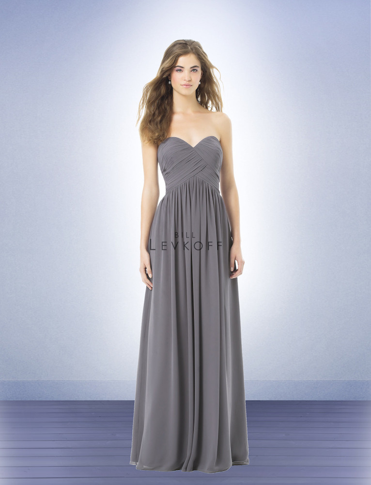Bill Levkoff Bridesmaid Dresses 386 Loading Zoom