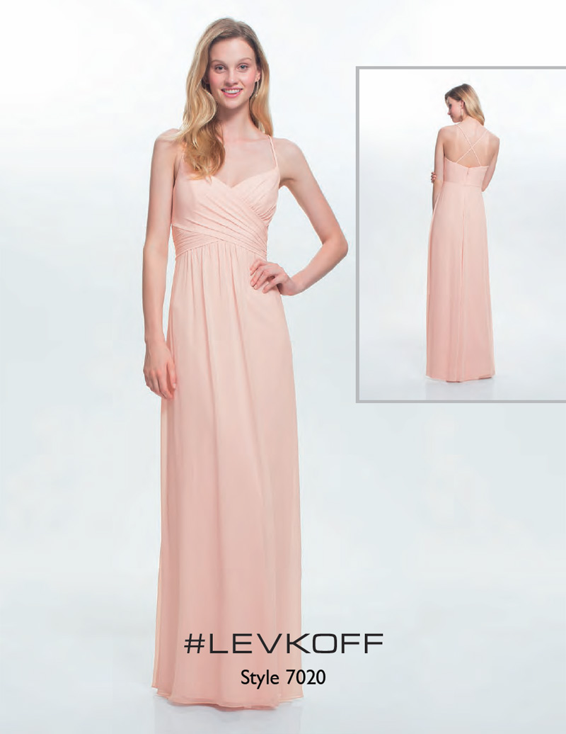 BILL LEVKOFF BRIDESMAID DRESSES|# LEVKOFF 7020|BILL LEVKOFF ...