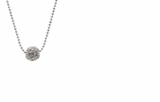 Dessy Accessories - Floating Swarovski Crystal Ball Necklace