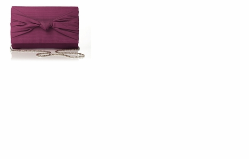 Dessy Accessories - Silk Faille Knot Clutch