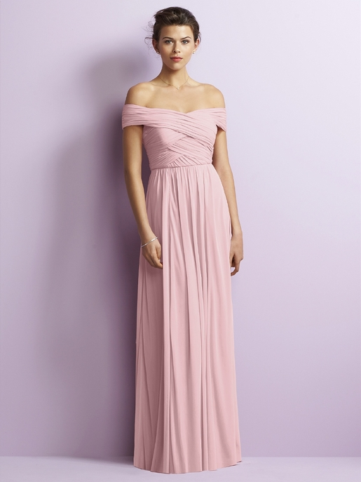 Maize and Pink Bridesmaid Dresses