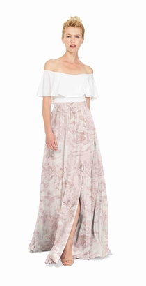 Joanna August - Natasha Long Skirt Print