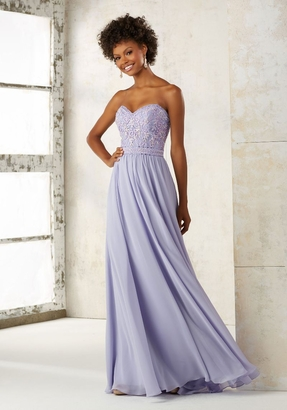Mori Lee BRIDESMAID DRESSES: Mori Lee 21501