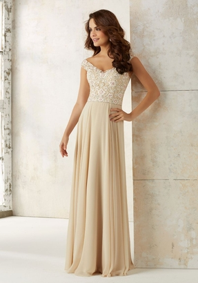 Mori Lee BRIDESMAID DRESSES: Mori Lee 21504