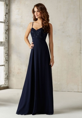 Mori Lee BRIDESMAID DRESSES: Mori Lee 21526