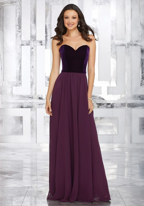Mori Lee BRIDESMAID DRESSES: Mori Lee 21540