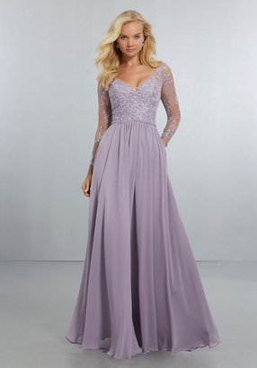 Mori Lee BRIDESMAID DRESSES: Mori Lee 21561