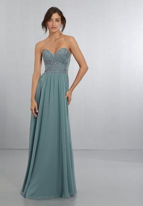 Mori Lee BRIDESMAID DRESSES: Mori Lee 21568