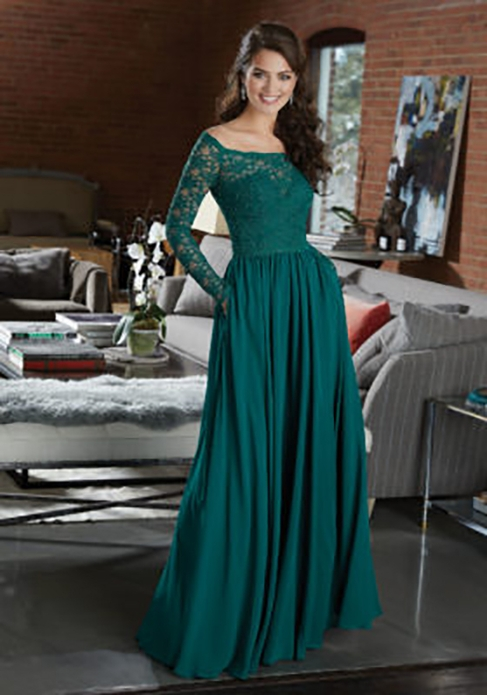 Mori Lee BRIDESMAID DRESSES: Mori Lee 21582