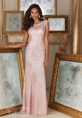 Mori Lee BRIDESMAID DRESSES: Mori Lee Angelina Faccenda 20481
