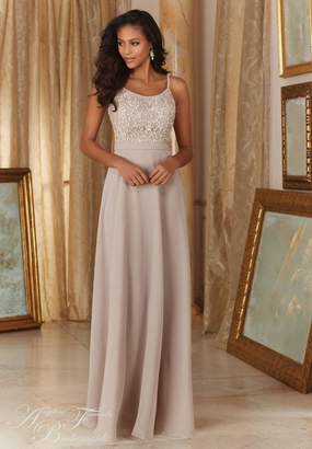 Mori Lee BRIDESMAID DRESSES: Mori Lee Angelina Faccenda 20483