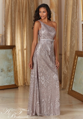 Mori Lee BRIDESMAID DRESSES: Mori Lee Angelina Faccenda 20486