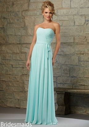 Mori Lee BRIDESMAID DRESSES: Mori Lee Bridesmaid 713