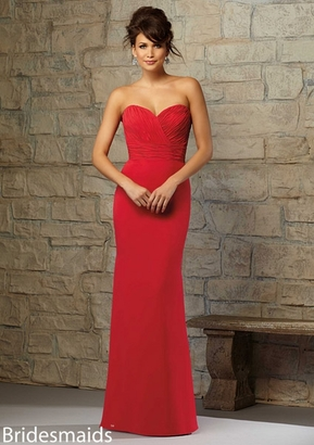 Mori Lee BRIDESMAID DRESSES: Mori Lee Bridesmaid 715