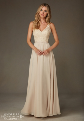Mori Lee BRIDESMAID DRESSES: Mori Lee Bridesmaid ML 122