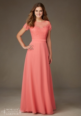 Mori Lee BRIDESMAID DRESSES: Mori Lee Bridesmaid ML 124