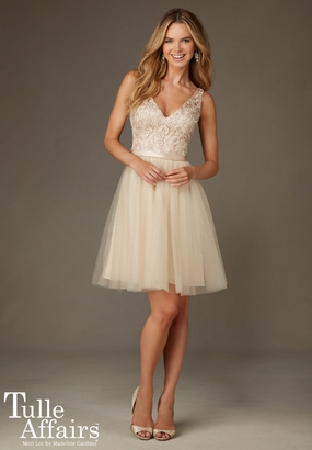 Mori Lee BRIDESMAID DRESSES: Mori Lee Bridesmaid ML 133