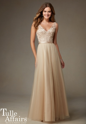 Mori Lee BRIDESMAID DRESSES: Mori Lee Bridesmaid ML 134