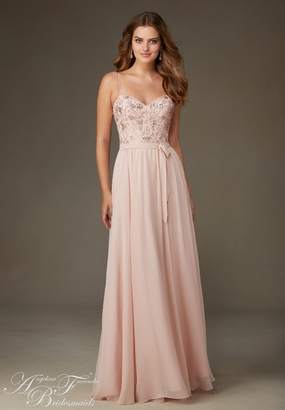 Mori Lee BRIDESMAID DRESSES: Mori Lee Bridesmaid ML 20471