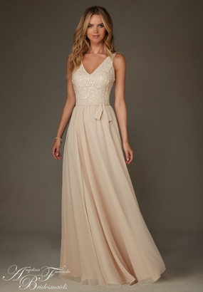 Mori Lee BRIDESMAID DRESSES: Mori Lee Bridesmaid ML 20472