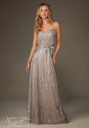 Mori Lee BRIDESMAID DRESSES: Mori Lee Bridesmaid ML 20477