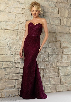 Mori Lee BRIDESMAID DRESSES: Mori Lee Lace Affairs 721