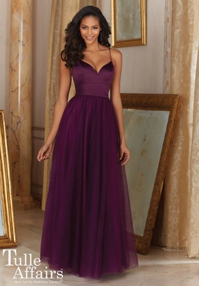 Mori Lee BRIDESMAID DRESSES: Mori Lee Tulle Affairs 153