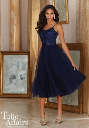 Mori Lee BRIDESMAID DRESSES: Mori Lee Tulle Affairs 155