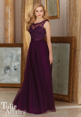 Mori Lee BRIDESMAID DRESSES: Mori Lee Tulle Affairs 156