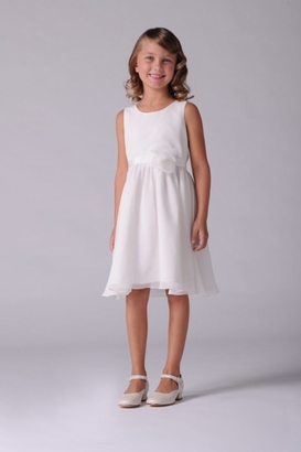 Us Angels Flowergirl Dress CALLA LILY