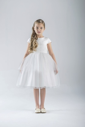 Us Angels Flowergirl Dress CAROLYN BALLERINA #671