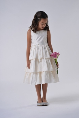 Us Angels Flowergirl Dress POPPY