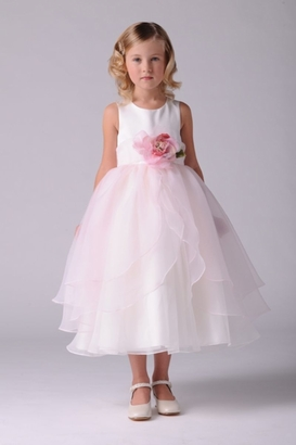 Us Angels Flowergirl Dress TULIP #104