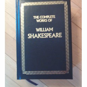Complete Works of William Shakespeare (Leatherbound) (Hardcover) used