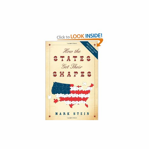 How the States Got Their Shapes by Mark Stein[Paperback] new