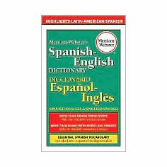 Merriam-Webster's Spanish-English Dictionary (Book, new)