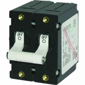 <b>50AMP</b> White Toggle 7242