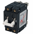 Blue Sea C-Series White Toggle Circuit Breaker - Double Pole